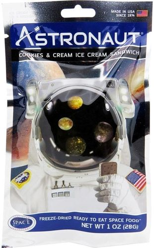 Astronaut Ice Cream – Cookies and Cream Sandwich