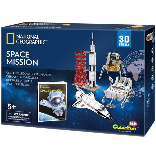 "3D Puzzle ""Space Mission"" National Geographic"