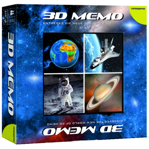 3D memory outer space, space flight & solar system