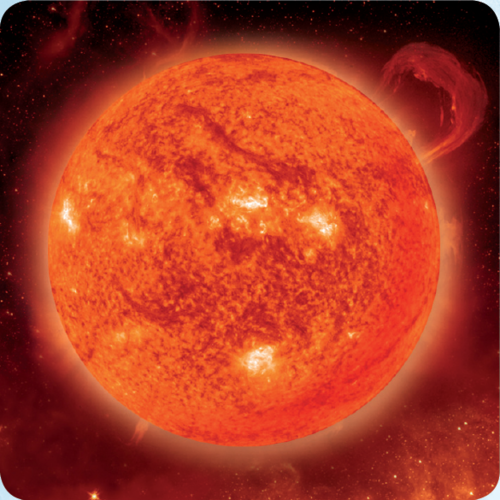 3D space magnet – Sun – Planets of the Solar system