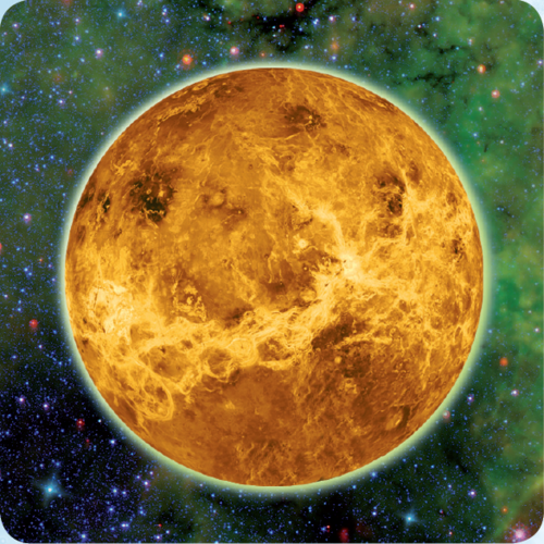 3D space magnet – Venus – Planets of the Solar system