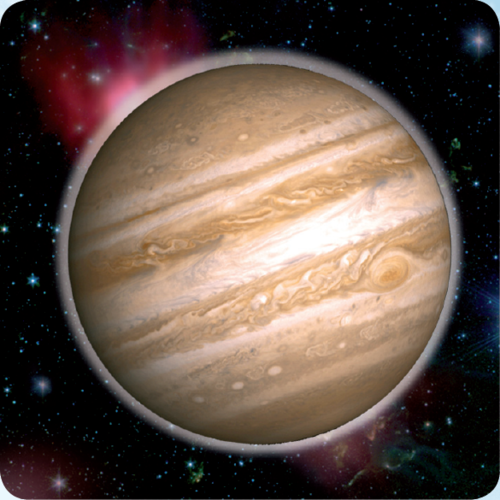 3D space magnet – Jupiter – Planets of the Solar system