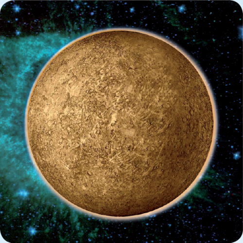 3D space magnet – Mercury – Planets of the Solar system
