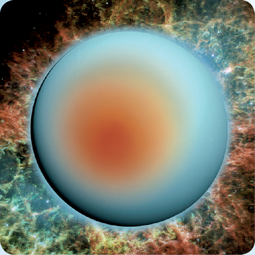 3D space magnet – Uranus – Planets of the Solar system