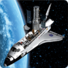 3D space magnet – Space Shuttle – Space flight