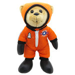 Astronaut Teddy – 25 cm furry teddy bear, plush bear