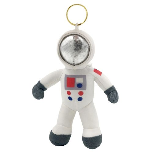 Cosmonaut White – 17 cm soft toy key ring