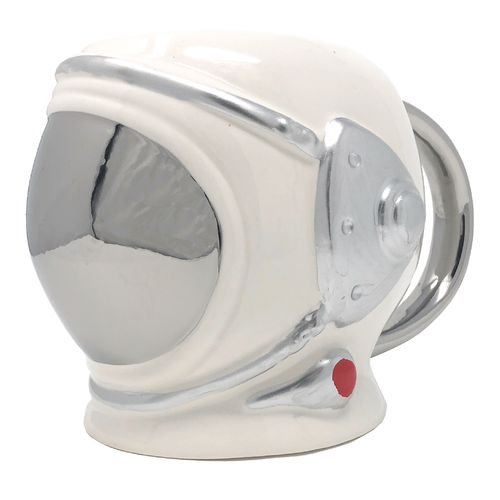 590 ml Mug – Space suit helmet, silver visor