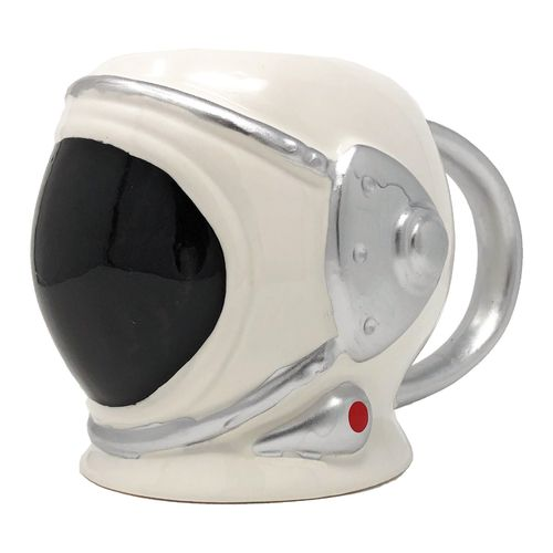 590 ml Mug – Space suit helmet, black visor