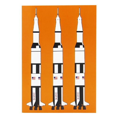 Design notebook A6 – Saturn V rocket