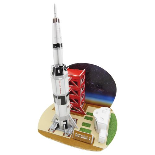 Physisches 3D Puzzel – Saturn V Rakete