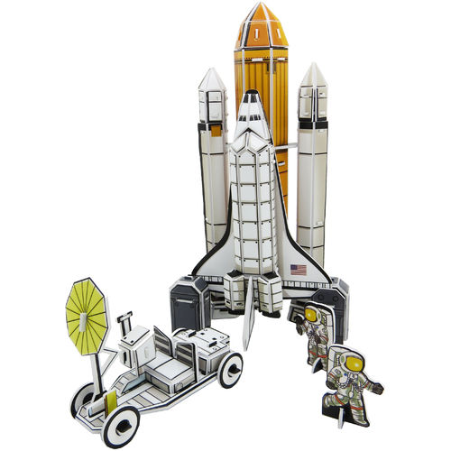 Physisches 3D Puzzel – Space Shuttle