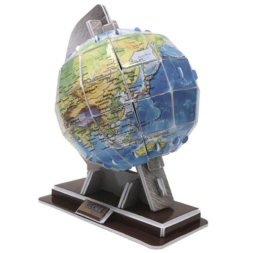 Physical 3D puzzle – Globe of the Earth