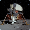 3D space magnet – Lunar lander – Space flight