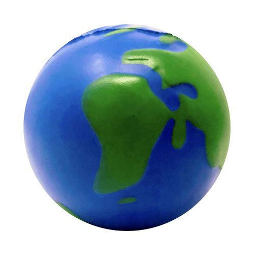 Space stress toy our blue planet Earth – 7 cm diameter