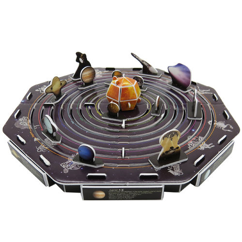 Physical 3D puzzle – Solar system & planets