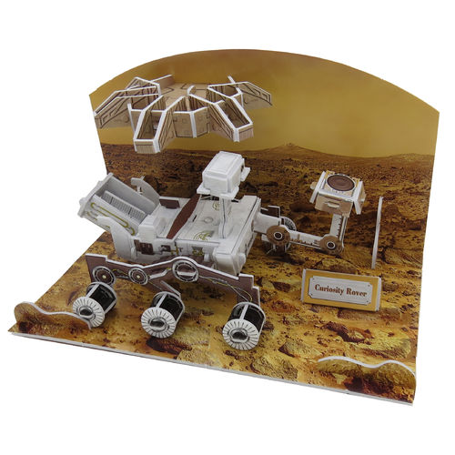 Physical 3D puzzle – NASA Mars Rover Curiosity