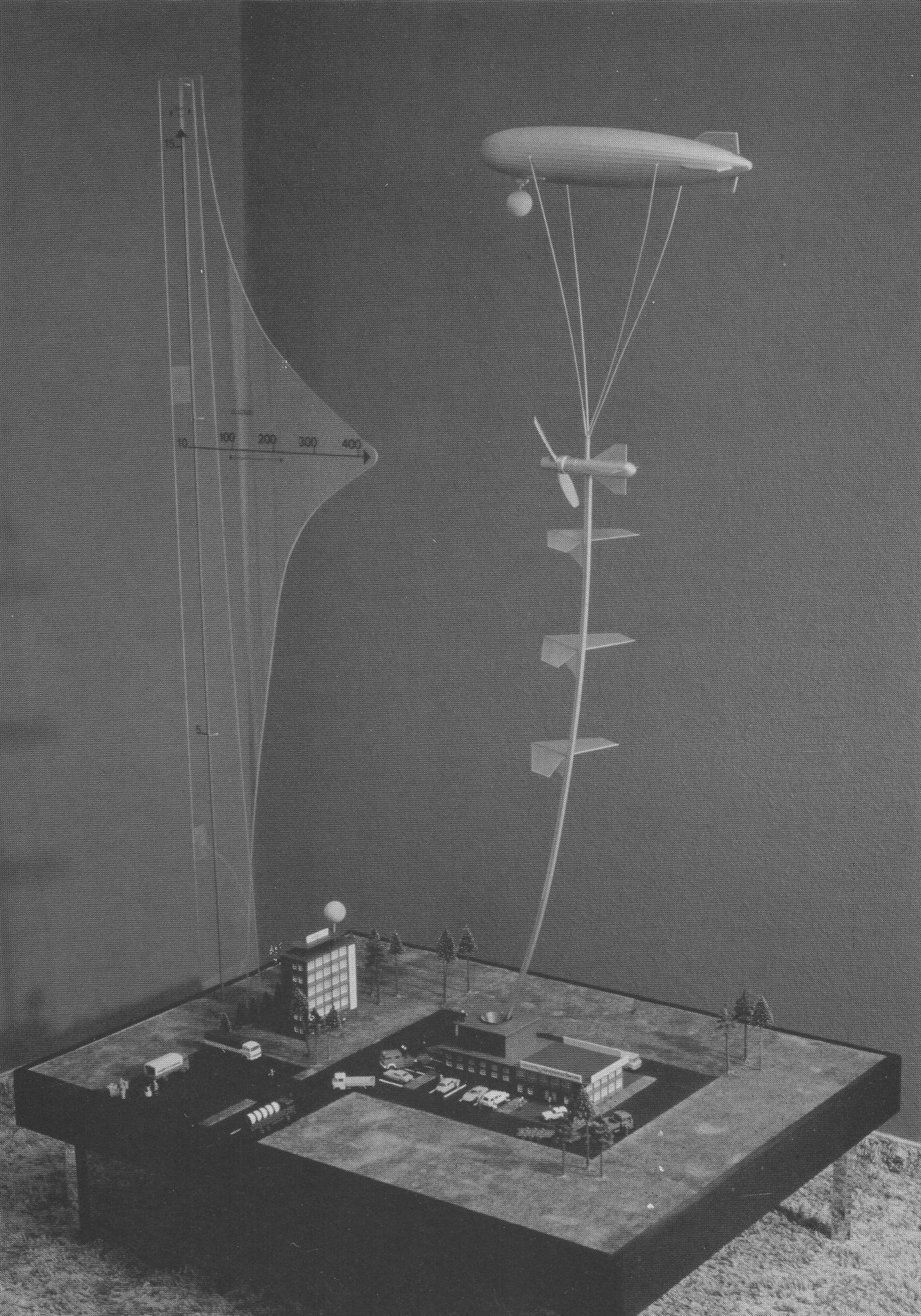 Kite wind power plant - Hermann Oberth