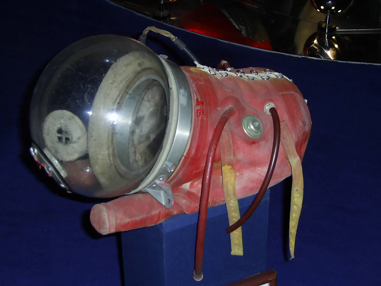 Space suit of Laika - First living creature orbiting earth in outer space